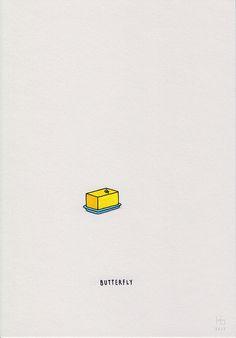 Food, Object or Animal by Jaco Haasbroek, via Behance - http://society6.com/haasbroek