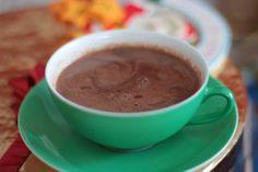 As Minhas Receitas: Chocolate Quente com Gengibre e Cardamomo