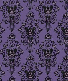 Haunted Mansion Mickey in Purple