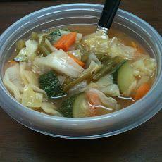 Weight Watchers 0 Point Garden Vegetable Soup