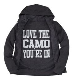 ABSOLUTELY NEED THIS!! Bass Pro Shops® ''Love Camo'' Hooded Sweatshirt for Ladies - Long Sleeve | Bass Pro Shops