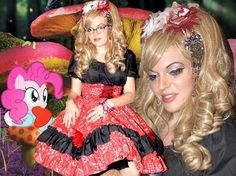 alice in wonderland flower set gothic lolita wigs