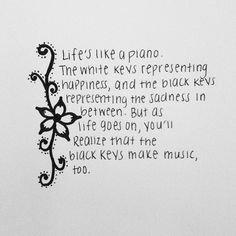 HH: So true - and some pieces need the black keys to finish up the song before you can move onto the next.