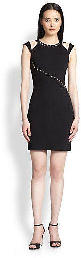 ABS Stud-Detail Dress