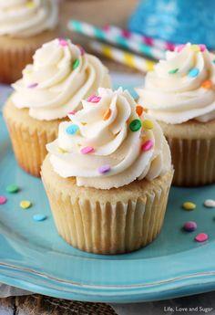 vanilla cupcakes, cupcak recip