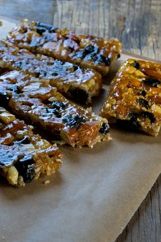 Cranberry Almond KIND Bars - Gluten-Free on a Shoestring