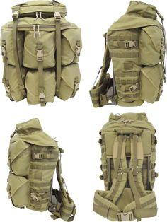 London Bridge Trading Company. Eight Pocket Light Backpack Kit.