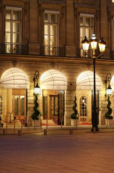 The Ritz Paris: Opened in 1898, The Ritz has maintained its status as a Parisian institution for more than a century. It was the world's first hotel to have a private bath in every room, and now swan-shaped, gold-plated faucets grace the tubs. Would you expect anything less from the iconic hotel where Coco Chanel once lived?
