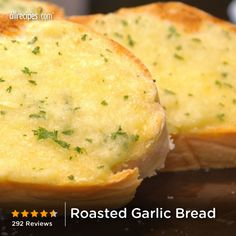 "Roasted Garlic Bread | ""I will be making this again, and will be making it often!"""