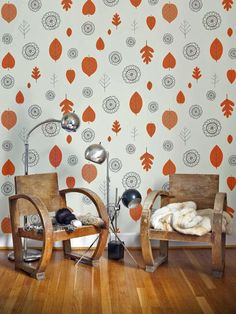 Inspired by Nature - 20 Vintage Wallpaper Ideas on HGTV