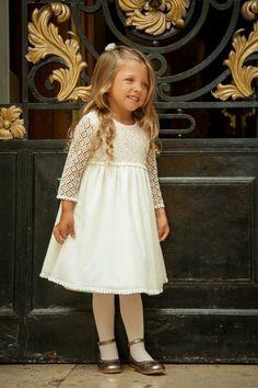 vestidos niña otoño invierno 2016