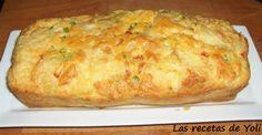 Pastel de verduras. http://lasrecetasdeyoli.blogspot.com.es/2012/10/pastel-de-verduras.html
