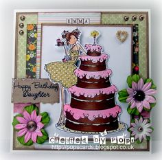 Stampin Bella - Biance Loves Her big cake - Wild Orchid Crafts