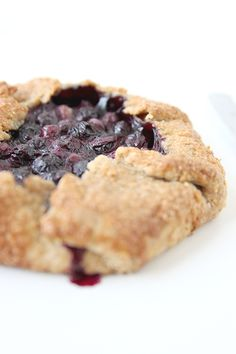 Blueberry Galette | The Fauxmartha