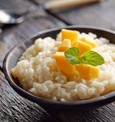 Kokosowy pudding ryżowy z mango #lidl #przepis #kokos #pudding #ryz #mango