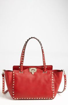 Must-have designer handbag: Valentino Rockstud - Mini Vitello Tote | Nordstrom