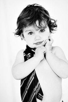 little boy + tie = cuteness