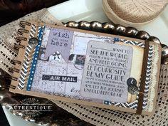 """Authentique Paper: """"Abroad"""" Travel Album"""