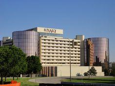 Hyatt Regency Rosemont - our conference hotel.