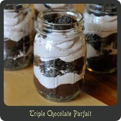 easiest dessert, cheap and easy desserts, cheap easy desserts, easy cheap desserts, mason jars, chocolate mason jar desserts