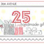25 handmade gifts