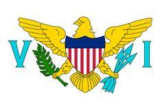 Flag of the US Virgin Islands.