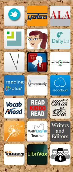 50+ Web Resources and Apps for 6-12 Language Arts