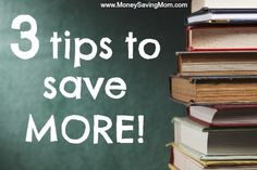 3 Tips to Save More