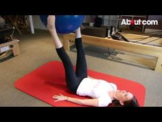 Beginner Inner Thigh Toning with an Exercise Ball