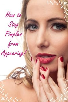 Learn some simple tips and tricks for a pimple-free complexion - there is nothing worse than #pimples appearing exactly when you want to be looking your best so read on to find out what you can do to avoid this problem xx