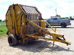 Vermeer 605C hay equipment salvaged for used parts. Call 877-530-4430. We buy salvage farm equipment. 7 salvage yards in the Midwest. http://www.TractorPartsASAP.com