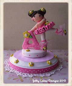 Cake toppers on pinterest cake toppers fondant toppers for Angelina ballerina edible cake topper decoration sale
