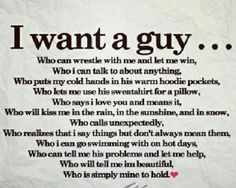The perfect guy ...