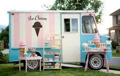 Vintage 1965 Ice Cream truck