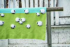 Counting Sheep Blanket by Angelia Robinson
