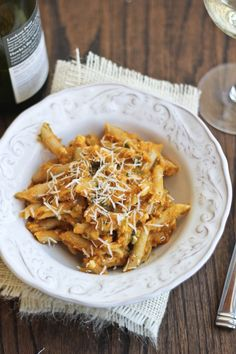 Creamy Pumpkin Pasta  made by @Cassie Laemmli | Bake Your Day #food