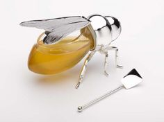 kitchens, bee honey, teas, silver, gifts, bottles, dots, jars, honey bees