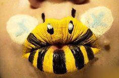 bumble bee lips