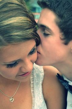 My amazing friend Sam and her boyfriend for prom. Could be use form engagement too.