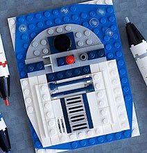 Lego Mini Portrait R2-D2
