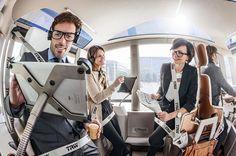 Genfer Autosalon 2013: Unsere Sir James iPad car Autohalterungen aus Edelstahl im Einsatz