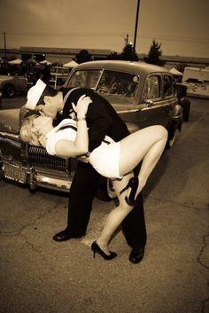 so cute! #navy #salior #kiss