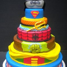 Superhero cake:)