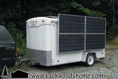 Solar power trailer: Part 1 by Jeffrey Yago.  Want more modern amenities during camping trips, without buying an expensive RV?  Read this article to learn more about converting your travel trailer into a solar-powered one.