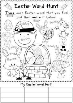 Easter Vocabulary Bundle.