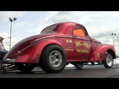 ▶ 2013 Gasser Reunion AA/GS Q1 Crook Pirrone Hale Bear Nostalgia Drag Racing Thompson Raceway Park - YouTube