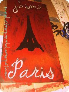 Tutorial Eiffel tower painting
