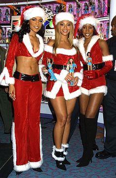 Destiny's Child in New York City, November 27th, 2001.