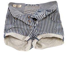 Pull High Waisted Shorts - http://www.pullandbear.com