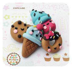 cutie treats ~charms, pendants, bow centers
